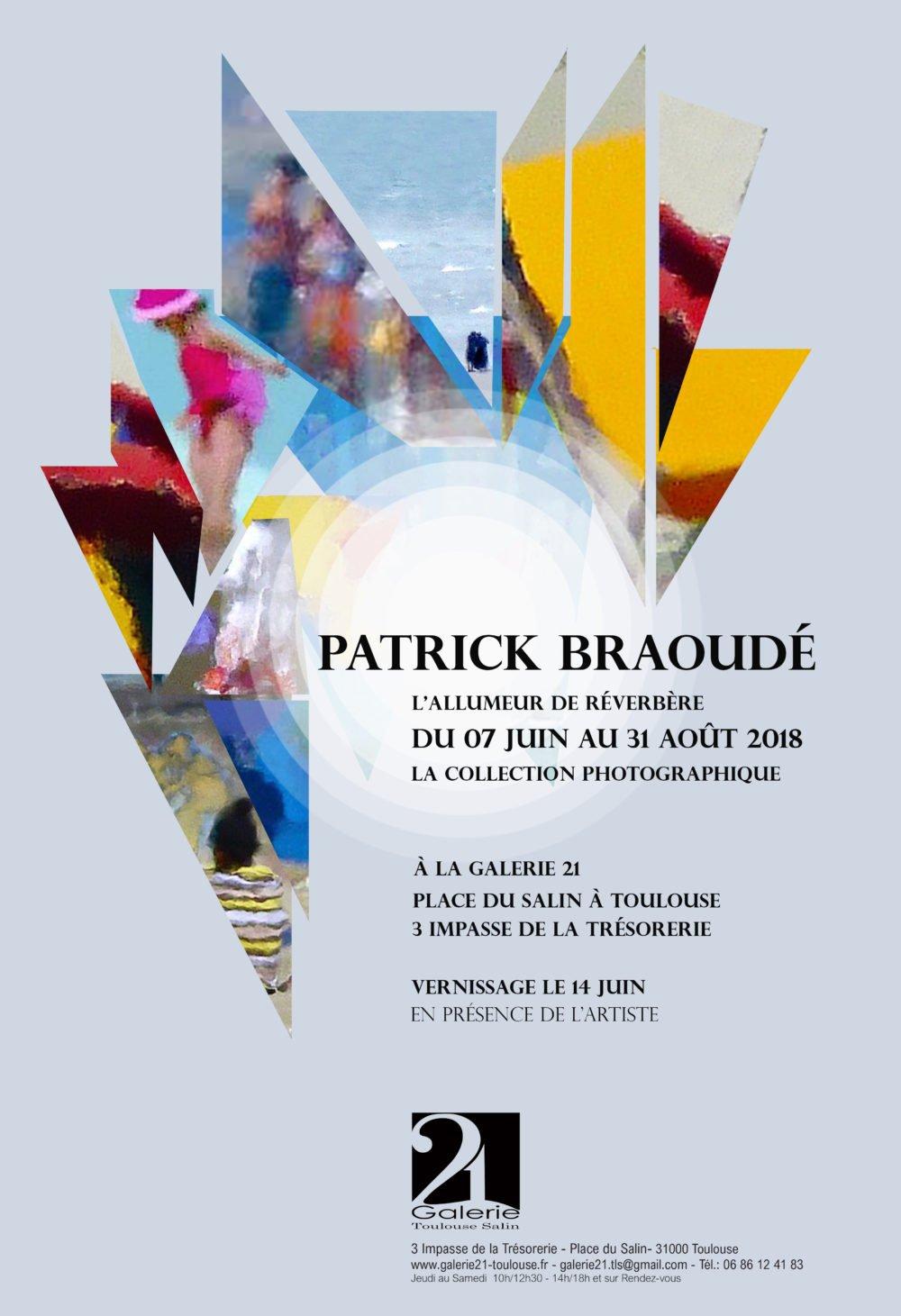 L'Allumeur de reverberes – le 14 juin a la Galerie 21 – Place du Salin