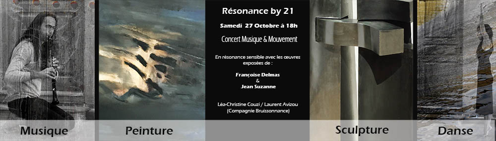 Un  devernissage  en resonance