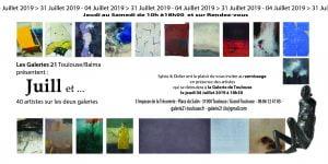 invitation Juillet 2019 Galerie 21