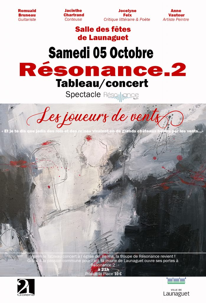 Affiche launaguet Résonance By 21