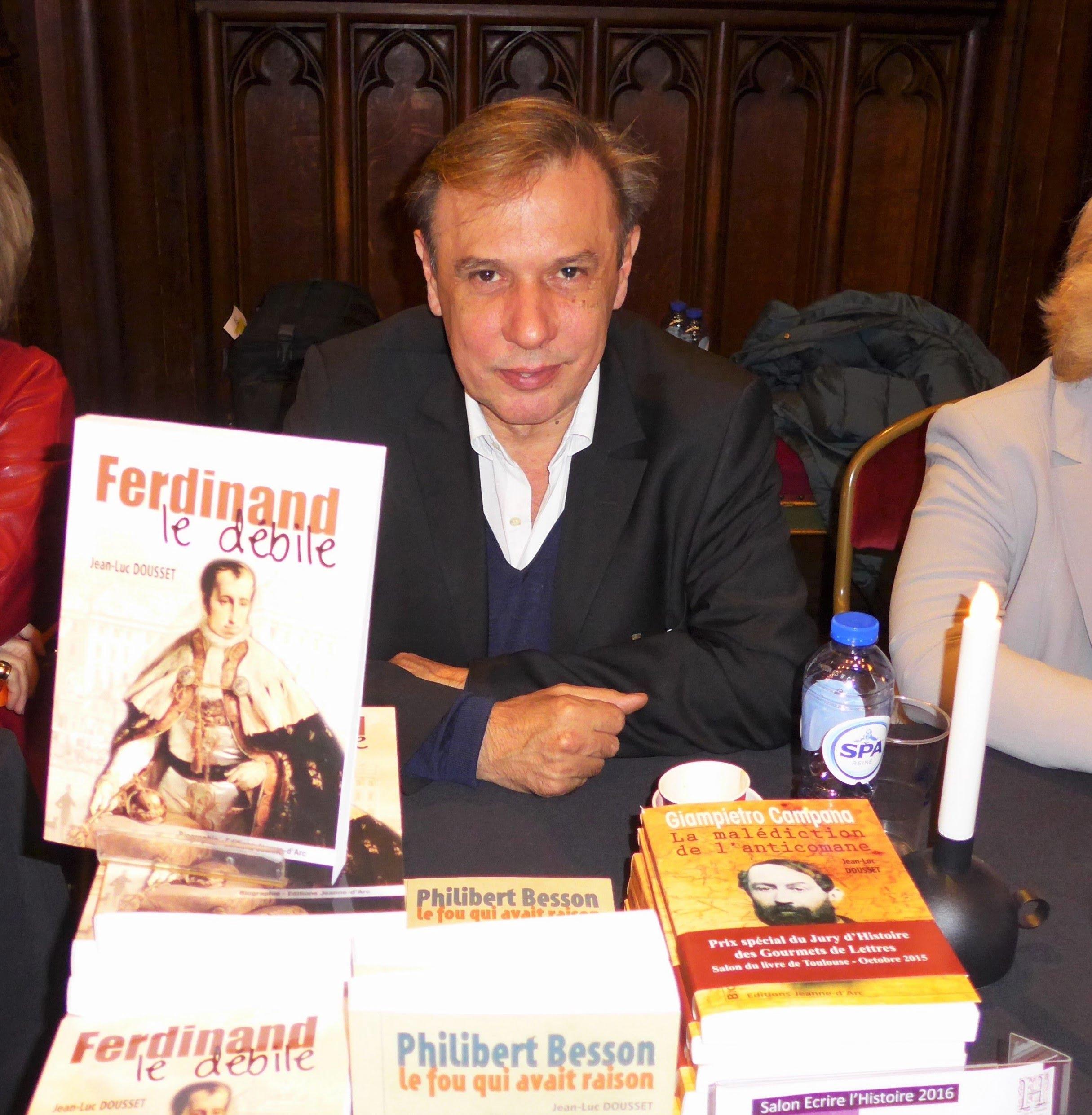 Dedicaces de l'ecrivain Jean-Luc Dousset a PIBRAC