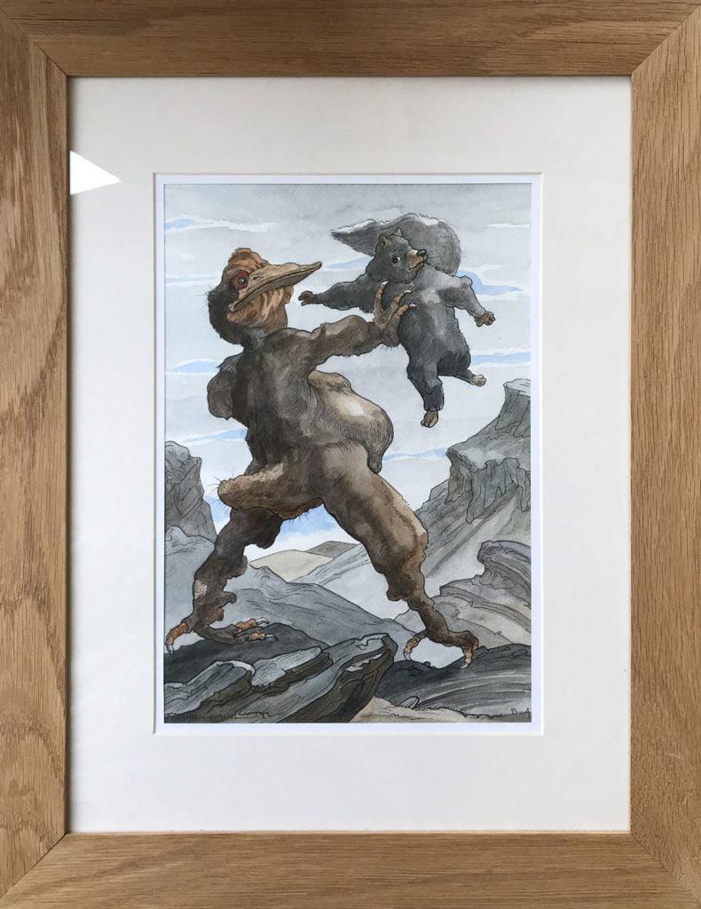 duhamel arrapel daniel galerie 21 cuentos de bichos le grand predateur