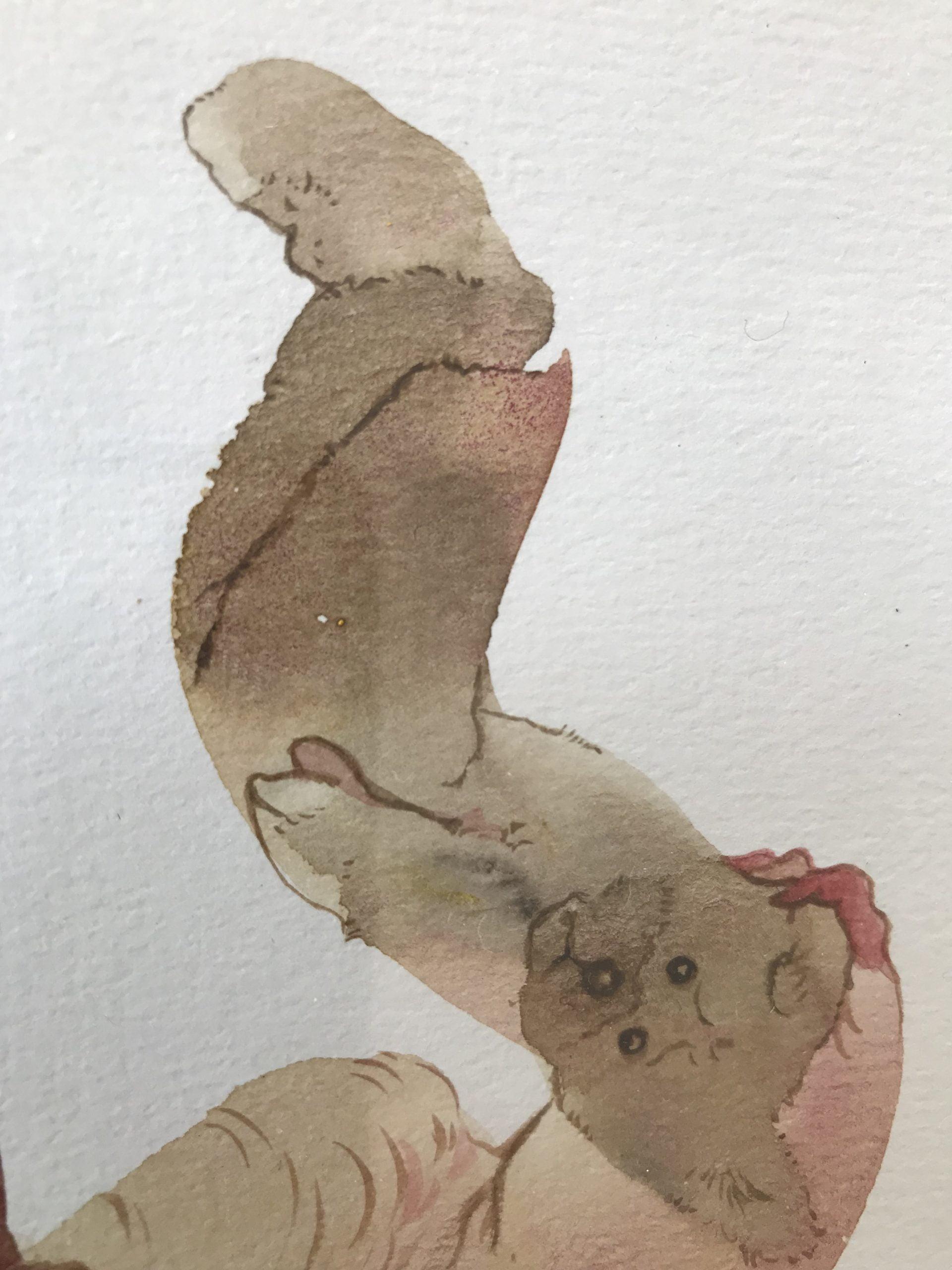 duhamel arrapel daniel galerie 21 massacre de la peluche detail 2