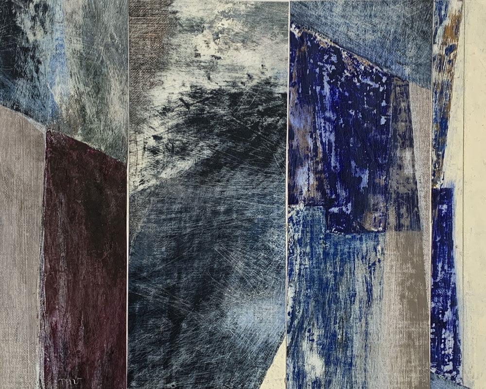 13-Marie-verdier-Paysage bleu - Galerie-21