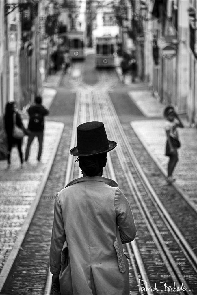 BETBEDER Patrick galerie 21 L'homme au chapeau