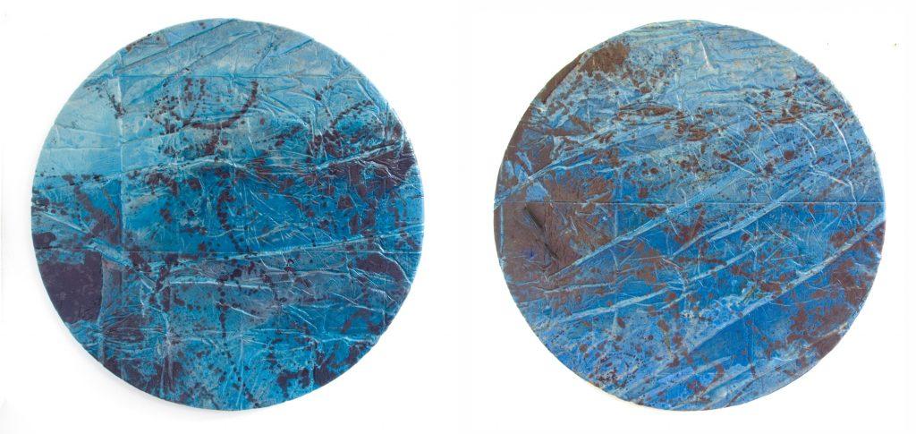 Lheure-bleue-I-II Escriba Xavier Galerie 21