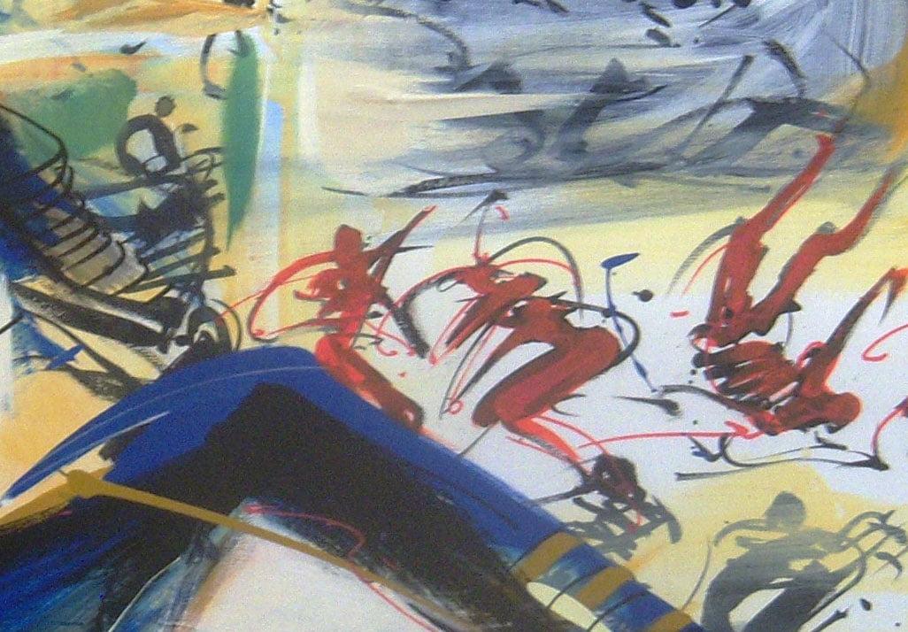 1-détail-DANSEUR-EN-LIVREE-Costiou-Galerie-21