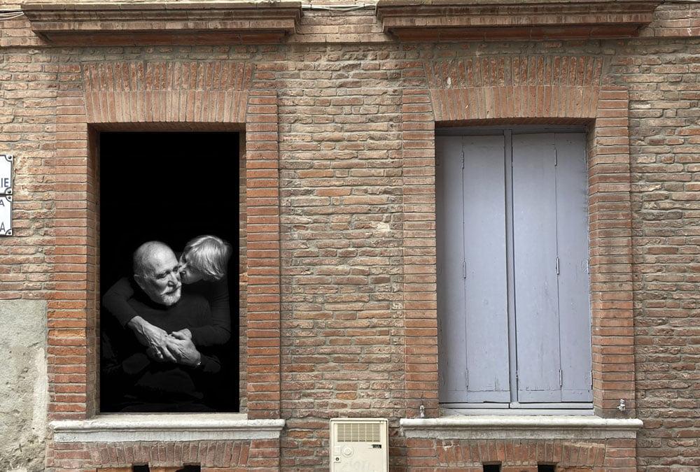 L'amour aux fenêtres de la galerie 21